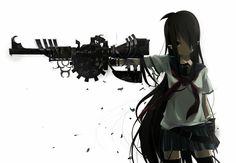 #Guns #Rifles #Anime #SchoolGirl