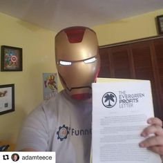 Just getting ready to save the world while I read Evergreen Profits Letter by @mattrwolfe and @joefier aka @evergreenprofits #egpletter  Love the podcast strategies in it to streamline the process and not spend too much time on it.