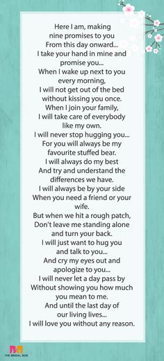 Love Messages For Fiance - A Promise