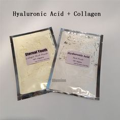 DIY Pack 25g Collagen + 25g Hyaluronic Acid SPA Quality Soft Powder Facical Mask Scars Acne Treatment Control Peel Off