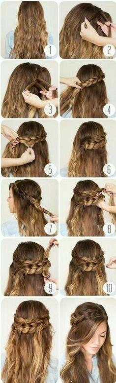 12 peinados fáciles para quienes no tenemos tiempo o paciencia.