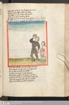 223 [107r] - Ms. germ. qu. 6 - Der Renner - Page - Mittelalterliche Handschriften - Digitale Sammlungen Schwaben, [1446; um 1450]