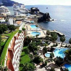 Funchal port, Madeira Island Portugal