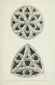 Designs For Gothic Ornaments Furniture After