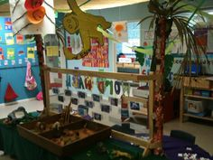 The OWLS turned the classroom into a jungle!