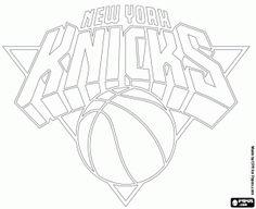 Sacramento Kings Logo NBA Coloring Pages