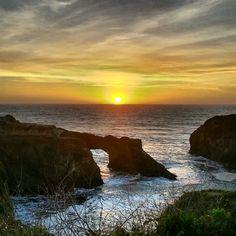 Winter Sunset at Mendocino Headlands State Park