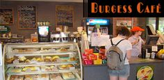 Burgess Cafe in Case Center - for all your coffee needs!