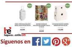 Las #ofertas de hoy son... #home #hogar #estilo #deco #decoración Visítanos en hogaresconestilo.com