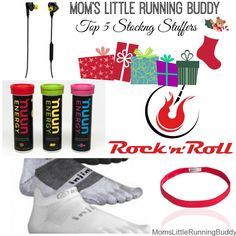 Stocking Stuffers for Fitness Lovers | Moms Little Running Buddy