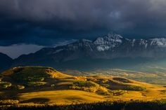 Photograph Mt. Wilson near Telluride, Colorado, in the Fall by Colby Brown on 500px