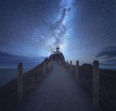 Milky Way over Nugget Point by Jimmy Mcintyre on 500px