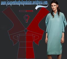 Freelancer Pattern Maker – all item fashion style Sewing Tutorials, Sewing Patterns, Skirt Patterns, Pola Rok, Pattern Paper, Kaftan, Dress Skirt, Dresses For Work, Tunic Tops