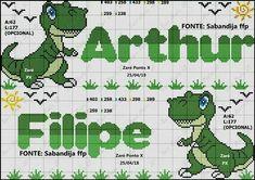 Cross Stitch Bookmarks, Cross Stitch Charts, Cross Stitch Patterns, Kawaii Cross Stitch, Cross Stitch For Kids, Baby Knitting Patterns, Baby Patterns, Cross Stitching, Cross Stitch Embroidery