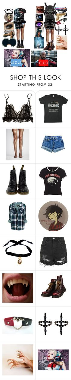 """Me if I was Harley and Floyd's Daughter"" by kaninekiller ❤ liked on Polyvore featuring Bullet, Isabel Marant, Floyd, Free People, Dr. Martens, Rails, Bisou Bijoux Ariela, Topshop, Rock Rebel and Venom"