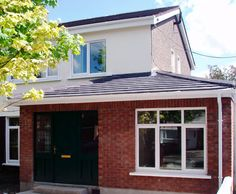 Dublin based Builder for planned & planning exempt house extensions - home improvements. Timberlines specialise in creating the perfect house extension for our clients lifestyle. House Extension Plans, Garage Extension, Side Extension, Extension Ideas, Porch Uk, Porch Doors, Garage Granny Flat, House Front, My House