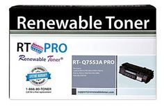 RT PRO 53A HP Q7553A Laser Toner Cartridge 3k Yield for LaserJet P2015 M2727 Series Printers