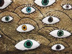 Beaded eyeballs on sightunseen.com