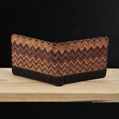 Pinnata Zigzag - Schors #dompet #wallet #kayu