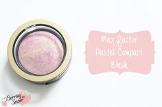 Review: Max Factor Pastell Compact Blush #makeup