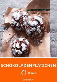 Schokoladenplätzchen - smarter - Zeit: 40 Min. | eatsmarter.de