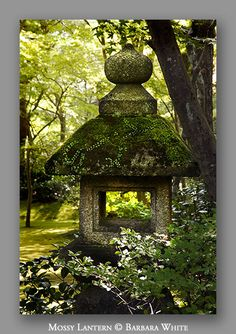 Three main elements found in every Japanese garden are: water, rocks and plants. This article focuses on the arrangement of rocks, their aesthetic qualities and their many pratical uses within your garden design. Japanese Garden Lanterns, Japanese Stone Lanterns, Japanese Garden Design, Japanese Gardens, Garden Theme, Garden Art, Japan Garden, Japanese Aesthetic, Garden Features