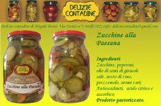 Zucchine alla Melfitana in olio di semi | Delizie Contadine