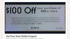 89e1c4b74790e A counterfeit Publix coupon was circulation on Facebook on July 12. Publix  Coupons