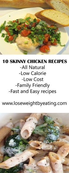 10 FREE weight loss recipes #LoseWeightByEating