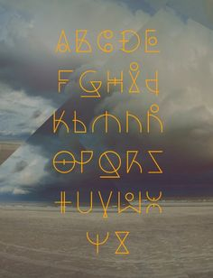 19 #Free #Geometric, Angular, Rune-esque Style #Fonts