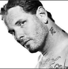 Corey Taylor...love his music in both Stone Sour and Slipknot. His voice is amazing!