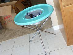 Super RARE Kromex Turquoise  Pic-Kwik Turntable