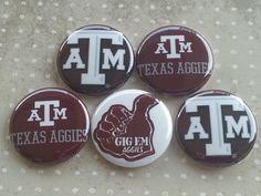 College Teams Texas A&M ATM Aggies Logos 1 by BeyondAButtonShop