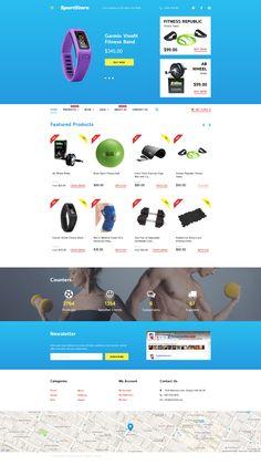 Shopify Theme , Sport Store