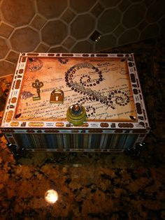 Inky Obsessions : Altered Cigar Box Frenzy!
