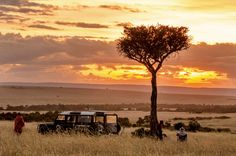 The Adventurers: Africa Skies A safari company, started by Joe Karuga and Jason McCracken, captures the majesty of Africa. By Joe O'Donnell B-Metro Magazine, March 2014 March 2014, Continents, Kenya, Savannah Chat, Safari, To Go, African, Sky, Magazine