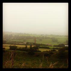 Misty morning over Bradfield #sheffield