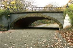 Winterdale Arch, Central Park, New York City.