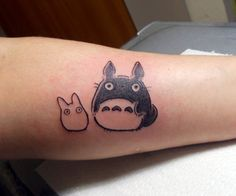 Totoro Tattoo (Fresh) so gettin this in my sleeve :)