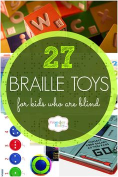 27 Braille Toys for Kids Who are Blind
