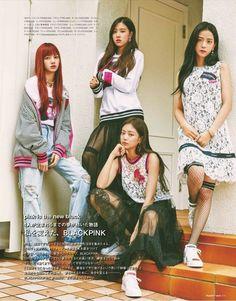 blackpink, lisa, and rose image Kpop Girl Groups, Korean Girl Groups, Kpop Girls, Blackpink Fashion, Korean Fashion, Jenny Kim, Magazin Covers, Tokyo, Black Pink Kpop
