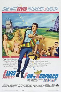 Fun in Acapulco movie poster