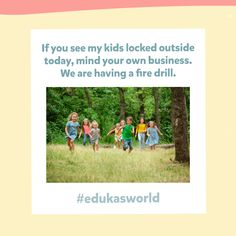 Eduka's World is an English Learning app for kids ages 2-10. Your kids will learn English while having fun! Best of all, it's completely free! Download on the Google Play Store and App Store today! Fire Drill, App Store, Learn English, Google Play, Kids Learning, Your Child, Have Fun, Journey, Adventure
