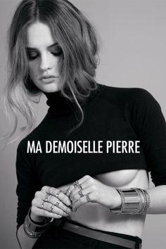 Campagne Ma Demoiselle Pierre FW 13-14 / www.mademoisellepierre.com Photo : Virginie Dubois // Make-up : Agathe Pons // Hair stylist : Fabien Jacobs // Stylisme : Marion Lalanne & Piere-Alexis Hermet // BIjoux Ma Demoiselle Pierre.