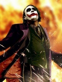 Heath Ledger Joker Wallpaper for HTC Phones