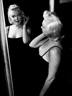 Marilyn Monroe by Milton Greene, 1955.