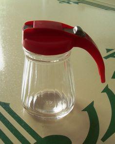 Vintage Syrup Pitcher Dispenser