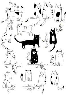 Lisa Buckridge - Many Cats