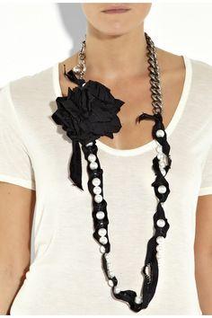 Lanvin Perle Fleur et Chaine necklace2