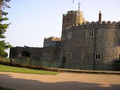 Walmer Castle in Kent, England, was built by Henry VIII in 1539–1540 as an artillery fortress to counter the threat of invasion from Catholic France and Spain.